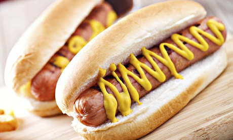Hotdog … how do you eat yours?
